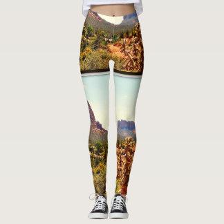 Women's Leggings Sedona Landscape
