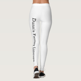 Women's Leggings - White