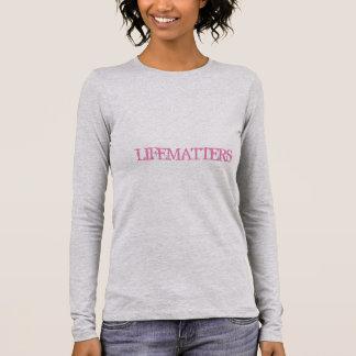 "Women's ""LIFEMATTERS"" Long Sleeved Casual Shirt"