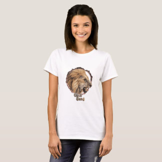 Womens lion t-shirt. T-Shirt