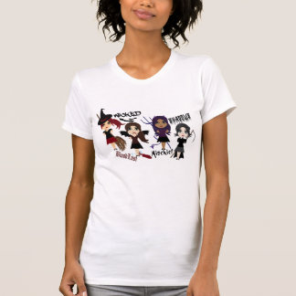 Women's Little Spooky Character Graphic T-Shirt