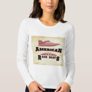 Womens Long Sleeve American Outboards Tee