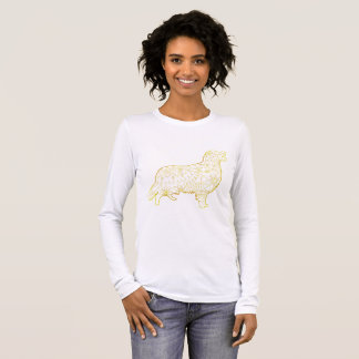 Women's Long Sleeve T-Shirt Golden retriever