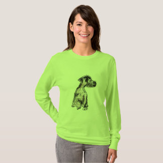 WOMEN'S LONG SLEEVE T-SHIRT - SHAGGY DOG
