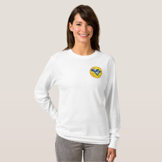 Womens Long Sleeve with SCNA National Logo T-Shirt
