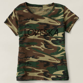Womens Loveska Camo T-shirt