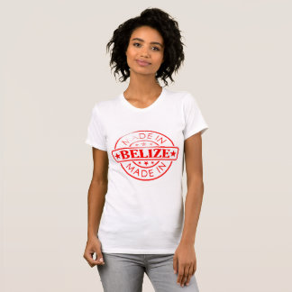 "Women's ""Made in Belize"" American Apparel T-Shirt"
