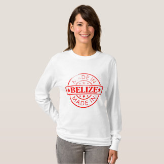 "Women's ""Made in Belize"" Basic Long Sleeve T-Shirt"