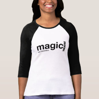 Women's Magic Black Sleeved Raglan Shirt
