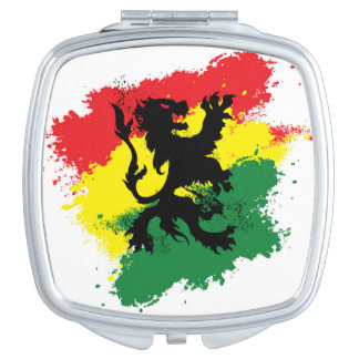 Womens' Makeup Mirror: Lion of Judah Compact Mirror