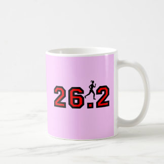 Womens marathon coffee mug