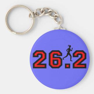 Womens marathon keychain