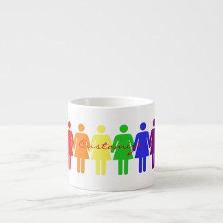 women's march 2017 LGBTQIA Espresso Cup