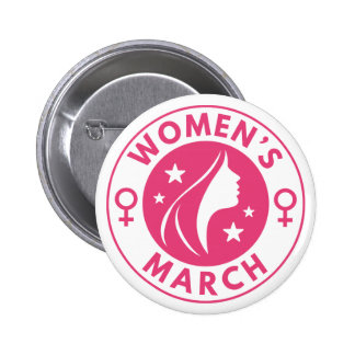 Women's March 2 Inch Round Button