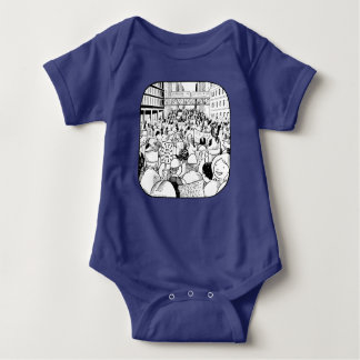 Women's March Chicago Infant's one piece Baby Bodysuit