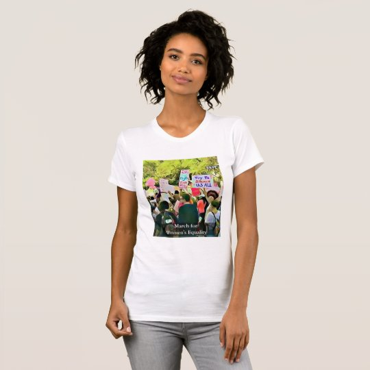 Women's March for Equality Protest Shirt