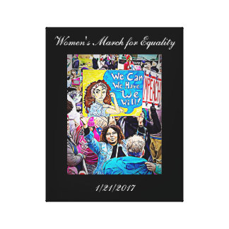 Women's March for Equality Wall Art