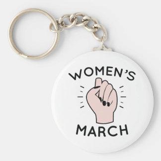 Women's March Keychain