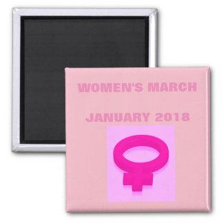 WOMEN'S MARCH MAGNET
