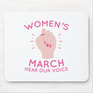 Women's March Mouse Pad