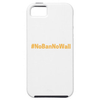 Women's March #NoBanNoWall iPhone 5 Covers