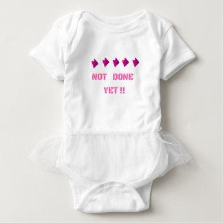 WOMEN'S MARCH NOT DONE YET BABY BODYSUIT