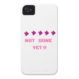 WOMEN'S MARCH NOT DONE YET iPhone 4 Case-Mate CASES