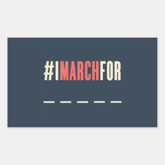 Women's March On America Sticker