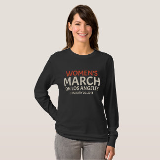 Women's March On Los Angeles January 20, 2018 T-Shirt