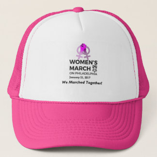Women's March on Philly Trucker Hat