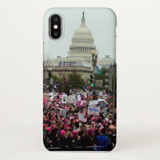 Women's march on Washington 2017 iphone X cover