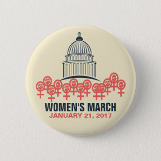 Women's March On Washington Solidarity 2 Inch Round Button