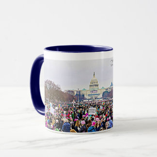Womens March protest Signs Coffee Mug