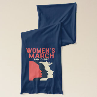 Women's March San Diego Official Scarf