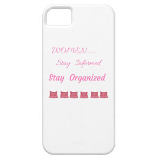 WOMEN'S MARCH STAY INFORMED STAY ORGANIZED iPhone 5 COVER