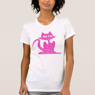 womens march trump protest pussy strikes back cat T-Shirt