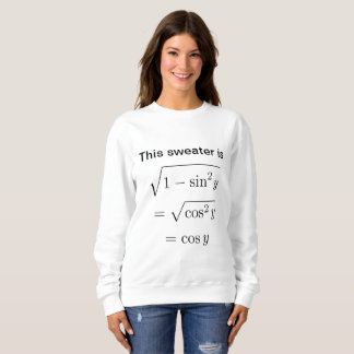 Women's Math Pun Sweatshirt