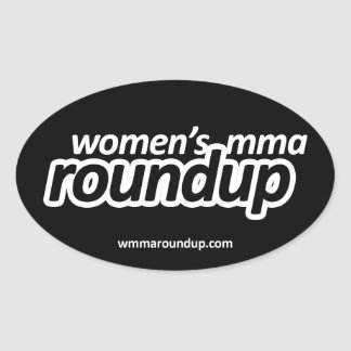 Women's MMA Roundup Sticker