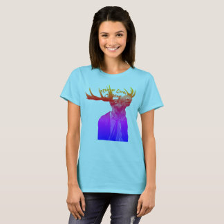 Womens Mobster Moose T-Shirt