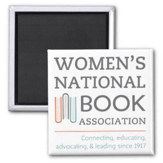 Women's National Book Association logo magnet