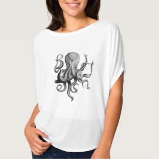 Women's Nautical Octopus Shirt
