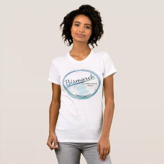 Womens North Dakota T-Shirt Bismarck