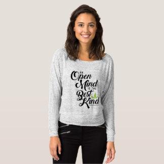 Women's Off Shoulder Cannatopia Open Mind Shirt