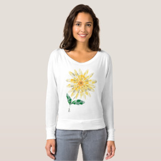 Women's Off Shoulder Shirt Daisy - T-shirt