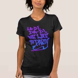 womens old school HIP HOP shirt