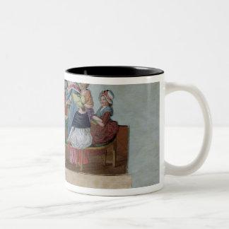 Women's Patriotic Club Two-Tone Coffee Mug