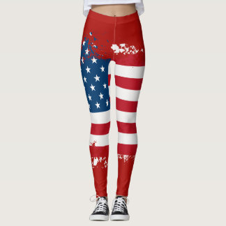 Women's Patriotic Leggings
