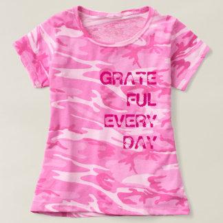 Women's Pink Camo T-shirt