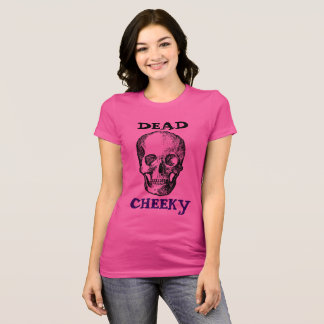 Women's pink short sleeved jersey t-shirt