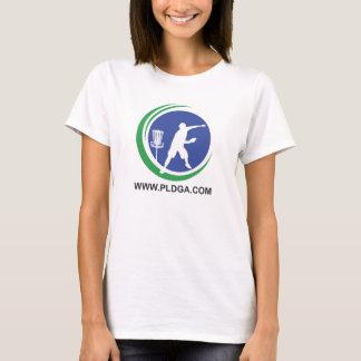 Womens PLDGA Logo and Basket Shirt